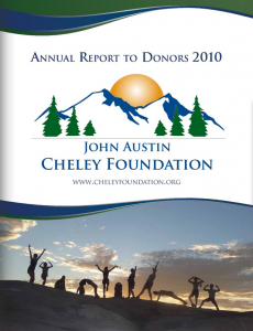 Annual Report Cover 2010