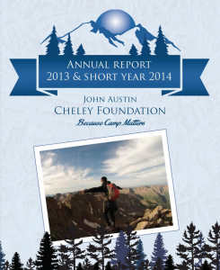 Annual Report Cover 2013:14
